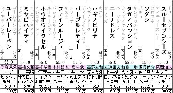 オークス 出走予定馬全頭分析(2/2)